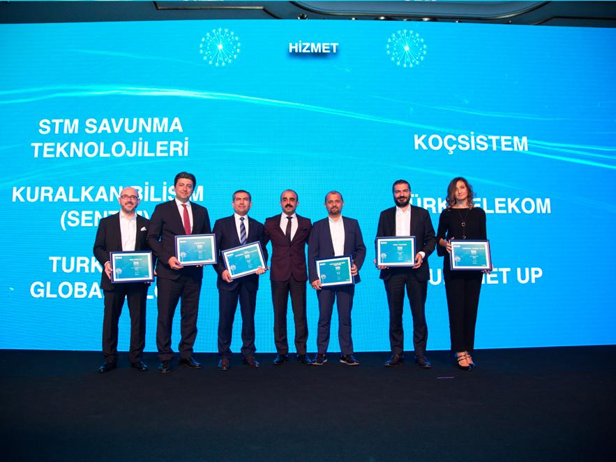 İLK 500 BİLİŞİM ŞİRKETİ TÜRKİYE 2017'DE GOSB KATILIMCILARINA ÖDÜL