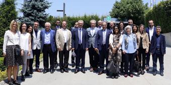 GOSB KATILIMCILARI ULUS METAL'DE BİR ARAYA GELDİ