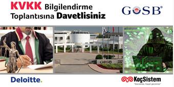 KVKK BİLGİLENDİRME TOPLANTISI/14 MART SALI/GOSB