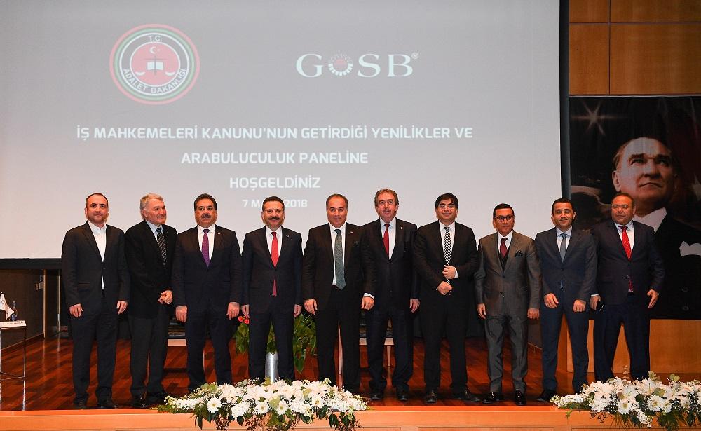 KOCAELİ VALİSİ HÜSEYİN AKSOY'UN KATILIMIYLA GOSB'DA GERÇEKLEŞTİRİLEN PANEL...