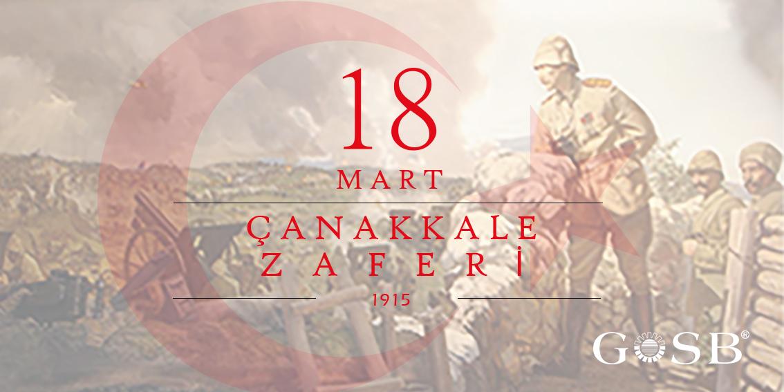 18 MART ÇANAKKALE ZAFERİ'NİN 105. YIL DÖNÜMÜ