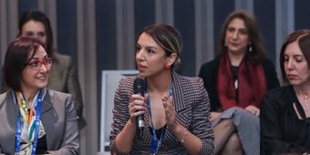 """NURGÜL AKŞİT, """"IDC WOMEN IN TECHNOLOGY 2020""""DE PANELİSTLER ARASINDA YER ALDI"""