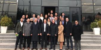GOSB KATILIMCILARI PETRO YAĞ FİRMASINDA BİRARAYA GELDİ