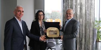 SIEMENS CEO'SU HÜSEYİN GELİS GOSB'U ZİYARET ETTİ