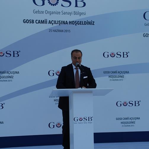 GOSB CAMİİ'NİN AÇILIŞI YAPILDI